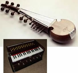 East India musical instruments